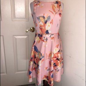EUC💕ANTONIO MELANI💕Sleeveless Floral Midi Dress